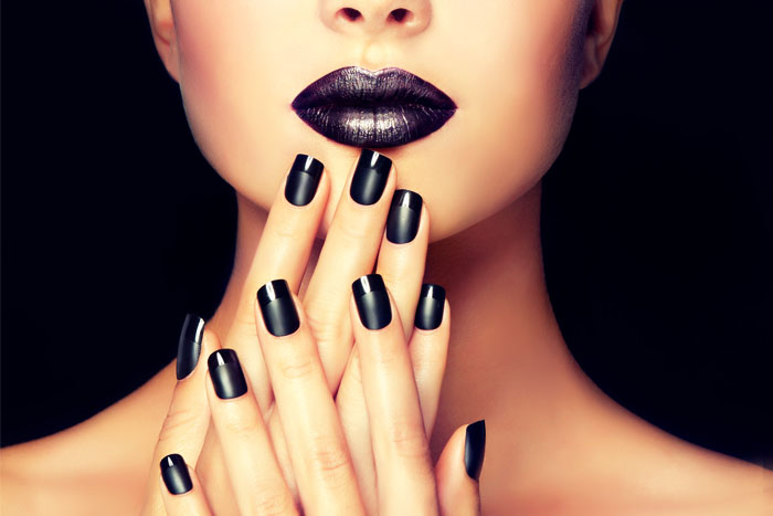 Best bold black blue purple lipstick launches