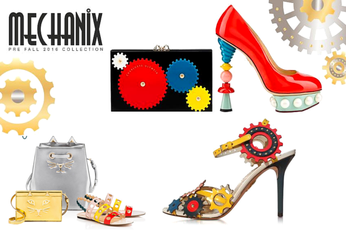 Charlotte olympia fall 2016 mechanix collection