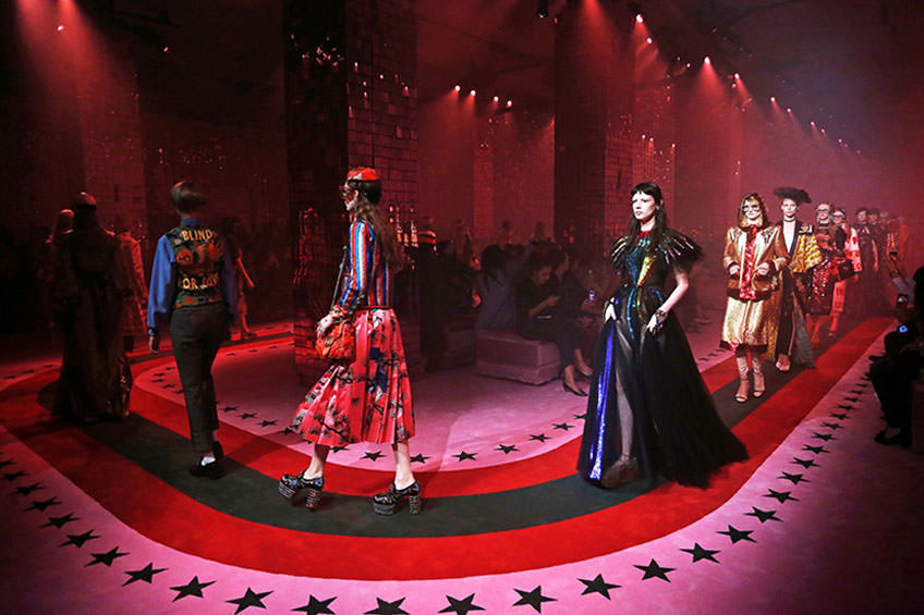 Gucci ready to wear spring summer 2017 fashion week