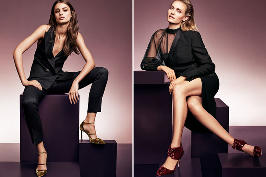 Jimmy choo womens autumn winter 2016 campaign collection