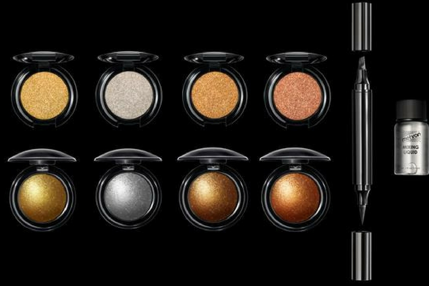 Pat mcgrath eye shadow palettes gold metalmorphosis