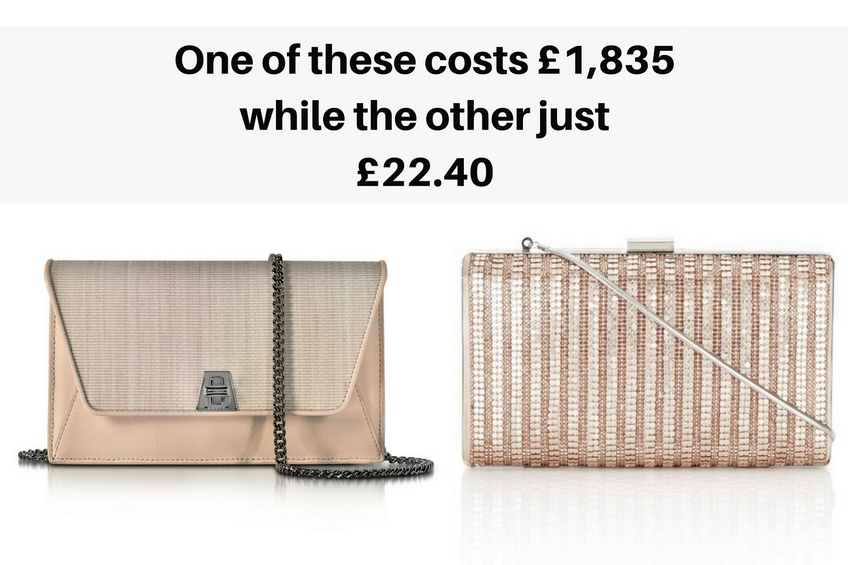 Can you guess which fashion accessory is more expensive