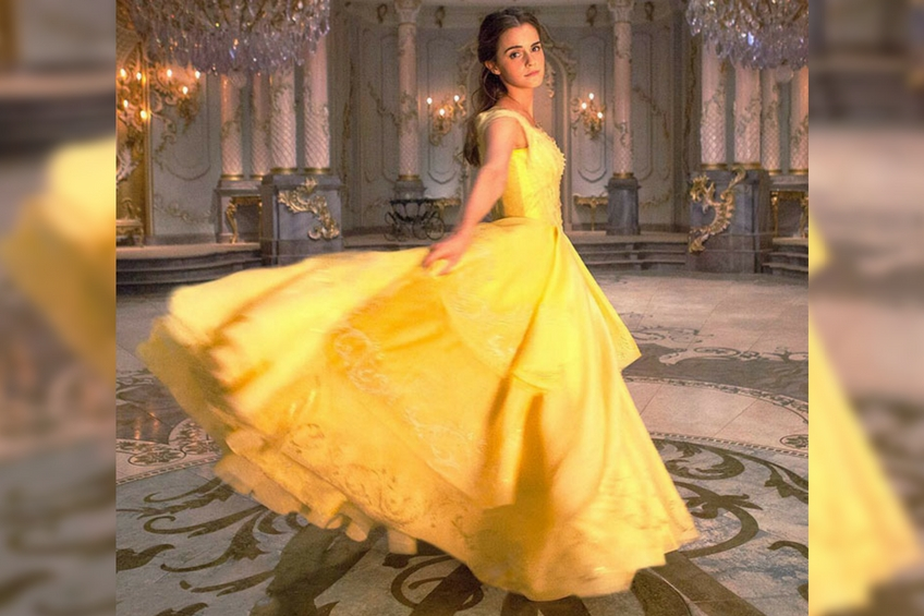 Emma watson dress belle feminist
